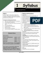 2013-14 math-1 syllabus