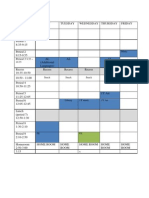 1y timetable