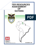 Guyana Water Assessment
