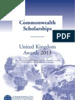 Prospectus Scholarships 2013