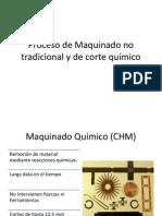 Proceso de Maquinado No Tradicional y de Corte