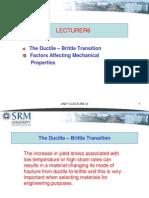 Properties Material 6 Srm