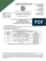 ECWANDC PUBLIC LAND USE & BEAUTIFICATION - September 9, 2013