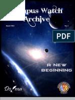 DoJMA's Campus Watch Archive - Vol 1, Aug '13
