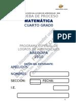MATEMATICA 4to