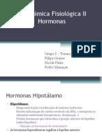 Hormonas hipotalamo-hipofise