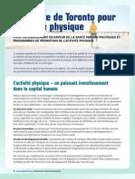 Charte de Toronto Pour l Activite Physique