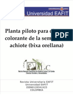 Planta Piloto Achote