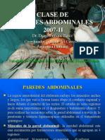 1ra Clase Abdomen - Pared Abdominal - Dr. Enriquez