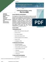 Sdc Plc Course