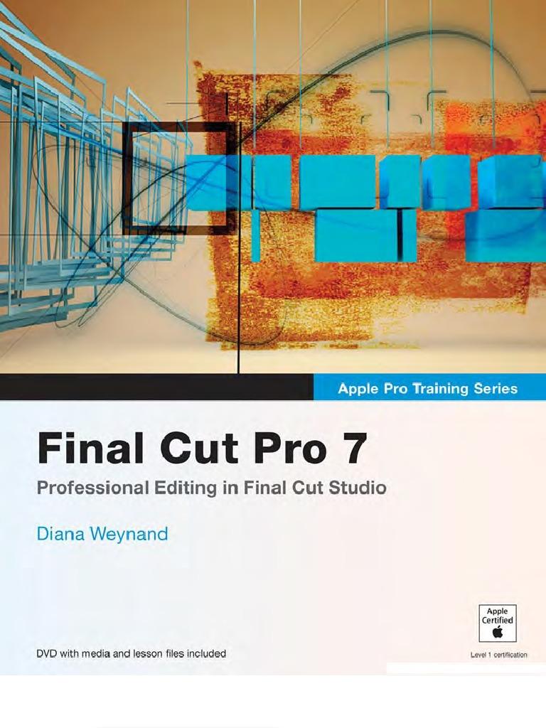 Final Cut Pro 7 Keyboard Shortcut Menu Computing