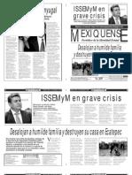 Versión impresa del periódico El mexiquense  6 septiembre 2013