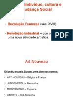 Movimento das Artes e Ofícios e ART NOUVEAU