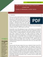 STRASA Economic Brief 2