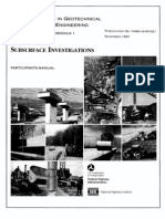 FHWA - Subsurface Investigation