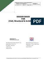 Civil Design Basis