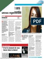 La Nouvelle Gazette - la prostitution sera bientôt reglementée - 06.09.13