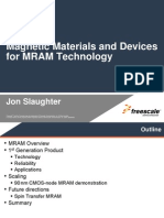 Magnetic Materials and Devices for MRAM Technology