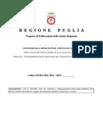 Regione Puglia - Proposta deliberazione Giunta - Programmazione trasporto pubblico