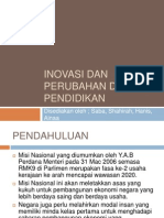 Edu 3109 (Inovasi Dan Perubahan Dalam Pendidikan)