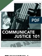 Communicate Justice 101