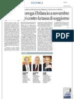 Rassegna Stampa 06.09.2013