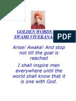 101996468 GOLDEN WORDS Swami Vivekanand