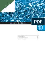 Guía del Aluminio 3 - Capítulo 10 - Información técnica