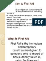 First Aid - (Entire Presentation)