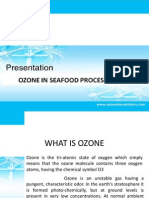 Ozone in Sea Food Process