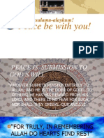 peace and islam.ppt