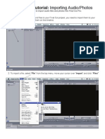 FCP Importing