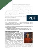 REBELIONES  INTERNAS EN EL PERÚ MOVIMIENTOS INDÍGENAS
