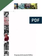 Programa de Formación Política Movimientos sociales y poder popular