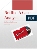 Netflix Case Analysis
