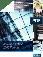 Asia Real Estate 2013 Forecast