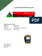 Informe Tipo de Analisis Electrico