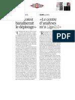 témoignages dépistage dossier autotest Libération