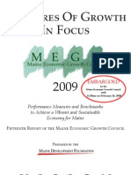 Maine's 2009 Measures of Growth report