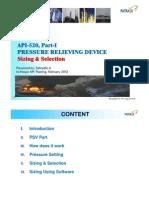 API Training-relieve Device (API 520)
