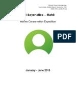 GVI Seychelles Marine Report Jan - Jun 2013 (Cap Ternay).pdf
