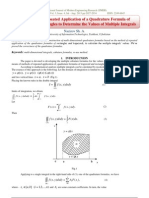 The Method of Repeated Application of a Quadrature Formula of Trapezoids and Rectangles to Determine the Values of Multiple Integrals