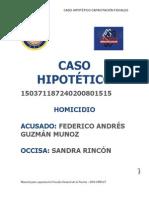 Caso Hipotetico Federico Guzman y Sandra Rincon