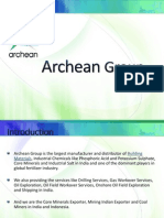 Fertilizer Exporters - Archean Group