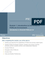 Introduction to the PDMLink Environment