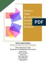 Normas sobre Alfabetizacion informativa en Edu. Sup.2012.pdf