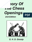 G H D Gossip Theory of chess openings