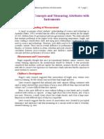 Ch 7a Measurement Concepts