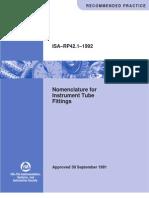 RP_421 Nomenclature for Instr.tube Fittings