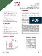LTC1073fa Datasheet